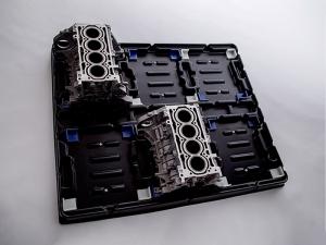 汽车发动机缸体运输托盘